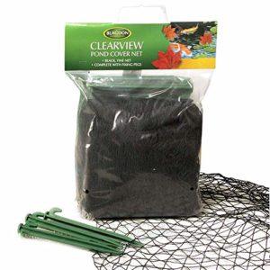Blagdon Clearview Filet de protection fin 6 x 5 m (Noir)