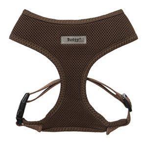 Bunty Harnais réglable en Maille Douce et Confortable en Tissu Respirant pour Chien et Animal Domestique Marron Taille M