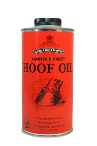 Carr & Day & Martin Vanner et Prest Hoof Oil, 500 ML Parent