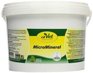 cdVet Naturprodukte – 24 / MicroMineral – Complément alimentaire riche en minéraux – Chiens et chats – 5 kg