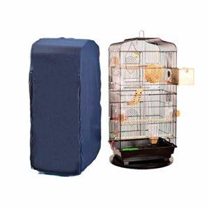 chengsan Housse cage oiseaux, Housse cage pour Reptiles et Perroquet 100% Coton, Housse oiseaux accessoires, Housse pour Cage à Oiseaux pour Animal Domestique, Bonne Nuit Cage à Oiseaux