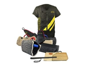 Dean & Tyler 7-Piece Pro Bundle Set, Includes Large Scratch Jacket/Advanced Builder/2-Tri Level Sleeves/Sleeve Cover/Hidden Sleeve for Training Dogs