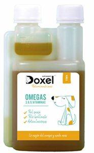 Doxel 4all 1 l   Huile pour Chiens   Complément Naturel   Système immunitaire renforcé   Articulations saines   Poil Brillant   Peau Saine   acides Gras Oméga-3-6-9   Vitamine E   Allergies Chien