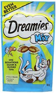 Dreamies C&T Mix Salmontuna 60 g (Pack of 8)