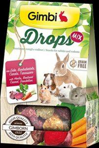 Drops avec herbes, betterave, carotte, Taras Snack pour Rongeurs sans céréales 50g