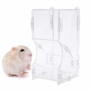 ECMQS – Automatique Mangeoire Pour Hamster Petit Animal Plat Alimentation Alimentaire Distributeur De Nourriture Pour Cochon D'Inde