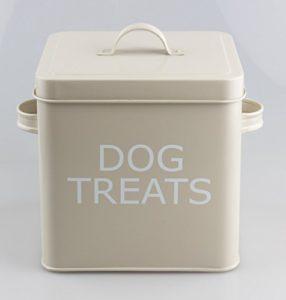 Friandises pour chien Boîte avec couvercle Style rétro