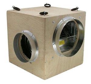 Futurre Profi-Filtre à Charbon Actif avec softbox kit vMC freischwebende Turin 250 m ³/h, kit d'aération pour growbox/homebox (boîte de Rangement