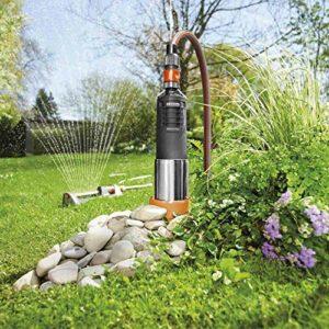 Gardena 01499-61 6000/5 Pompe pour fontaine en inox automatique Argenté/noir 950 W