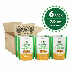 Greenies Pill Pockets Friandises pour Chien, saveur Poulet