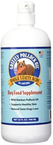 Grizzly Pollock Huile Alimentaire pour Chiens