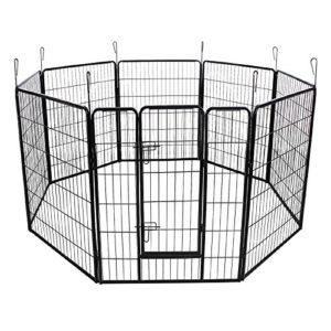 Helloshop26 3712023 Parc Enclos Cage pour Chien/Chiot 163 x 163 cm