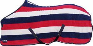 HKM 550797Couverture séchante Fashion Stripes avec Sangle croisée
