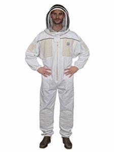 Humble Bee 431 Combinaison d'apiculture ventilée avec voile d'escrime