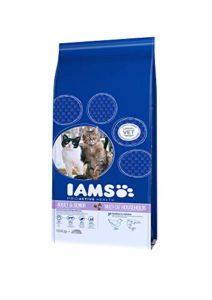 IAMS Multicat Croquette au Poulet/Saumon pour Chat 15 kg