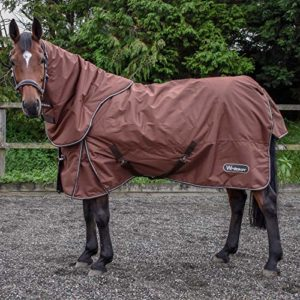 John Whitaker Bournville Combo Turnout Rug 6ft9 Chocolate