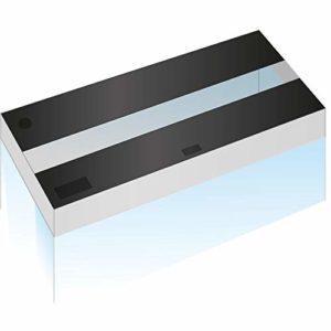 Juwel Volets Lido 120 Noirs/ 1 Rampe (X2 Volets) pour Aquarium pour Aquariophilie Volets