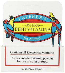 Lafeber de Avi-Era poudrés Bird Vitamine 35,4Gram