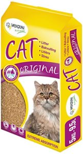 Litière pour chat Vadigran 5501 Original, extrêmement absorbante, petite taille, 5 kg