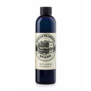 Mountaineer Brand All-Natural Beard Wash WV Timber, 8 Ounce by Mountaineer Brand