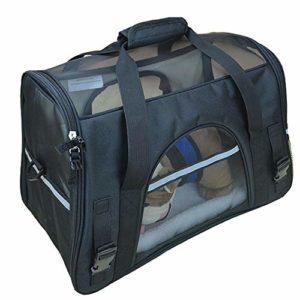 NOBRAND HAORI Cage pour chien portable et pliable – Douce, facile à plier, facile à transporter, confortable pour chien, maison, voyage, efficace pour éliminer la fatigue et l'anxiété du chien