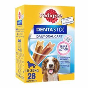Pedigree Dentastix – Friandises pour Moyen Chien – 112 Sticks Hygiène bucco-Dentaire