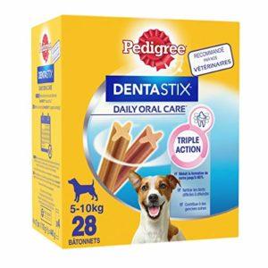 Pedigree Dentastix – Friandises pour Petit Chien – 28 Sticks Hygiène bucco-Dentaire – Pack DE 4