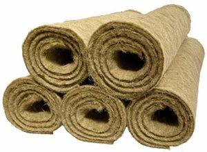 pemmiproducts Tapis 100% chanvre, 150x 80cm Épaisseur 10mm, lot de 5(EUR 11,99/pièce), les rongeurs Tapis en tant que pour lapins, cochons d'Inde, Hamster, fond de cage Dègue, rats et d'autres rongeurs.