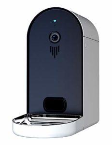 Pet Smart Feeder, distribution automatique d'appareils de distribution de nourriture d'appareil-photo de synchronisation nocturne quantitative de 165 ° Hd de synchronisation automatique grande capaci