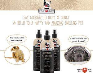 Pets Are Kids Too Désodorisant pour Animaux Domestiques Anti-démangeaisons et désodorisant – Tout Naturel et hypoallergénique (1 Bouteille)