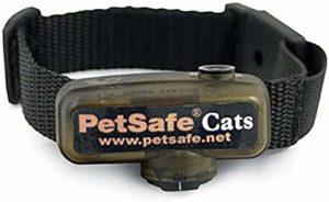 PetSafe – Collier Anti-Fugue pour Chat Supplémentaire pour Clôture Anti-Fugue avec Fil pour Chat 4 niveaux de Stimulation – Collier pour Chat Léger et Ajustable