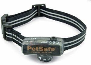 PetSafe – Collier Anti-Fugue pour Petit Chien Supplémentaire pour Clôture Anti-Fugue avec Fil PetSafe – Collier Léger et Imperméable – Sangle Réfléchissante