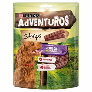 Purina Adventuros Strips with Venison Flavour 90g