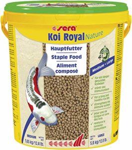 Sera – Koi Royal HF large – Nourriture pour poissons – Carpes koï – 1 x 4.15 kg