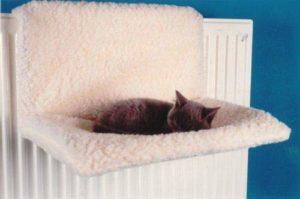 SIMPLY 4 Pet Products Tapis de radiateur doux lavable pour chat