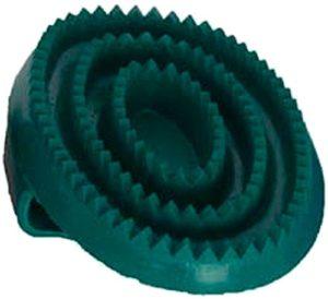 TdeT Étrille caoutchouc – vert – 16 * 10cm