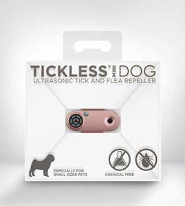 Tickless Mini – Répulsif Rechargeable Ultrason Anti-tiques et puces pour Animaux de Compagnie – Or Rose