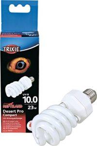Trixie Désert Pro Compact 10,0 Lampe UV-B Compacte 60 × 152 mm 23 W