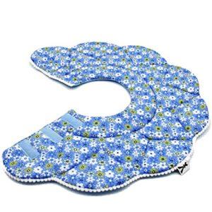 UEETEK Collerette de Protection pour Chien/Chat,Confortable Collerette, 29-35 cm (Bleu)