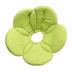 UEETEK Collerette de Protection pour Chien/Chat,Confortable Collerette, M (fleur verte)